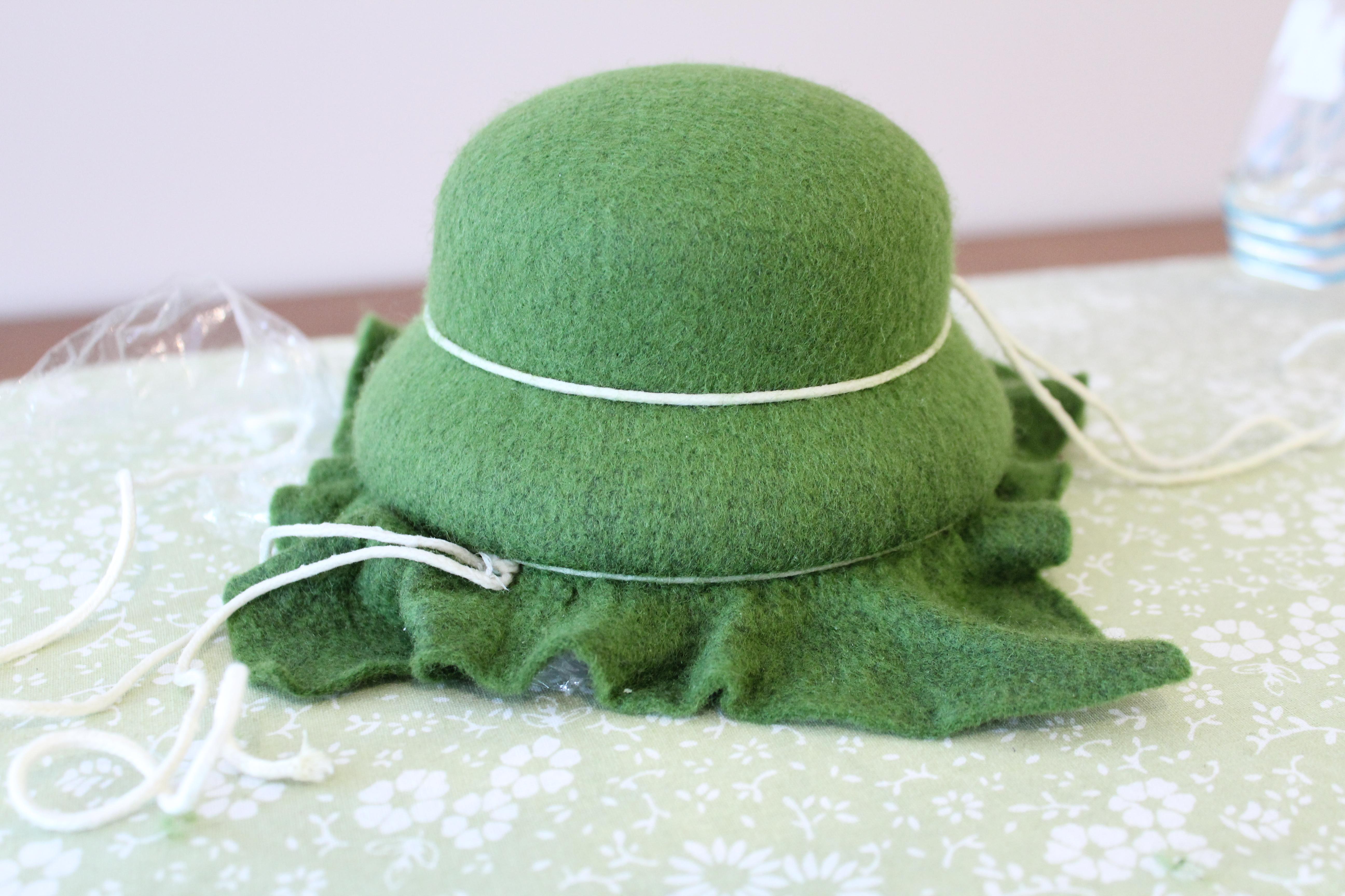 How it's Made- Wool Felt Hats: Part 1