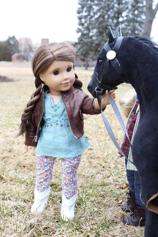 Clarisse and Horse