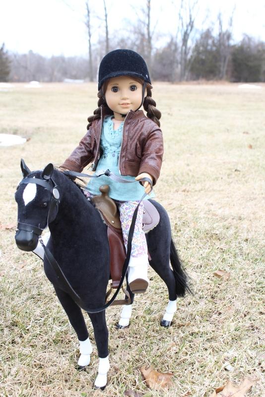 Clarisse on Horse