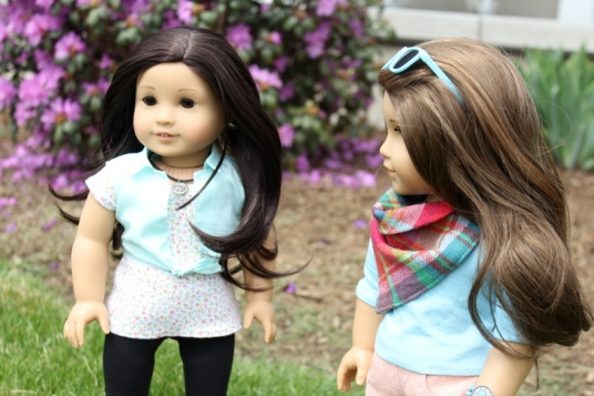 Meryl and Clarisse