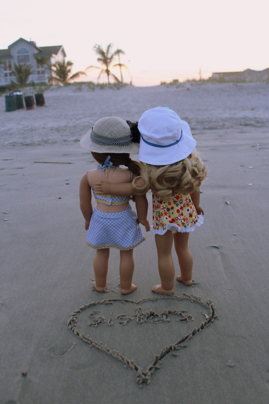 Sisters in the Sand