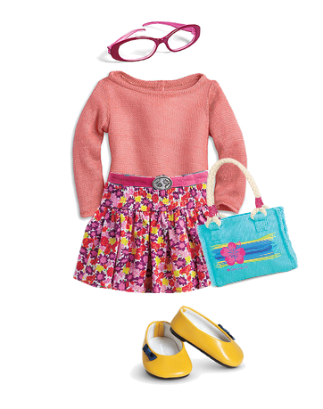 Flower Sweater Outfit 3