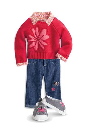 Flower Sweater:Saige's Parade
