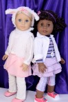 Ruby and Camille as Doc Mcstuffins and Lambie