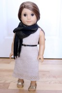 Knit Dress, Slip, and Belt- $26