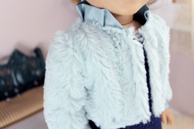 Icy Fur Jacket- $18