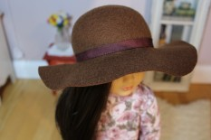 Brown Floppy Hat- $25
