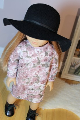 Black Floppy Hat- $25